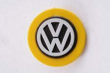 German Germany Vintage VW Volkswagen Car Auto Unknown Badge Pin Yellow Pocket