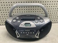 Vintage RCA AM/FM/CD/Cassette Player Boombox RCD158A CASSETTE & RADIO WORKS