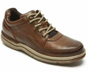 Rockport World Tour Mens Brown Leather  CH3940  Size: 11 W  New in Box