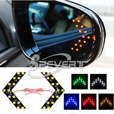 2x 14-SMD LED freccia auto retrovisore luce specchio gira Indicatori di segnale