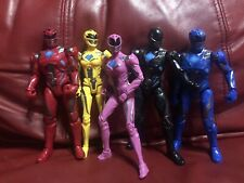 Power Rangers Legacy Collection  Movie Set Red, Blue, Black, Pink, And Yellow