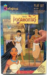 Vintage Disney Pocahontas Colorforms Play Set #791 - NEVER OPENED SEALED IN BOX!