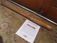 Doyle Alexander Game Used Hillerich & Bradsby Baseball Bat PSA Certified
