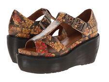 Dr. Martens Women`s Adaya Platform Cross Strap Sandal Tattoo Floral ALL SIZES