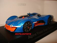 NEW NOREV  ALPINE RENAULT VISION GRAN TURISMO 2015 ORANGE / BLUE au 1/43°