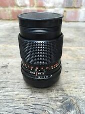 Carl Zeiss Jena DDR Red MC S Sonnar 135mm f3.5 1:3.5 Telephoto Lens M42 Mount