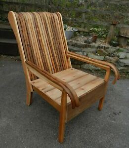 QUIRKY BESPOKE ONE OF A KIND WALKING STICKS ARMCHAIR - GOOD CONDITION