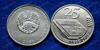 Transnistria 25 rubles 2020 25 years of the PMR Constitution