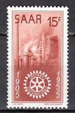 Germany / Saarland - 1955 50 years Rotary International - Mi. 358 MNH