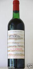 vin Bordeaux Saint Emilion Chateau TROPLONG MONDOT 1975 GCC bouteille 75cl