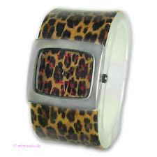 """Spangenuhr Uhr von JANE KAHN """"Leopard"""" - Leo - Wildlife"""