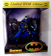 Batman 100th Limited Edition Boxed Action Figure DC Comics and Batarang New 1996
