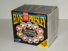 10 CD Box Elvis Presley - The Ultimate Consumer Picture Compact Disc Collection