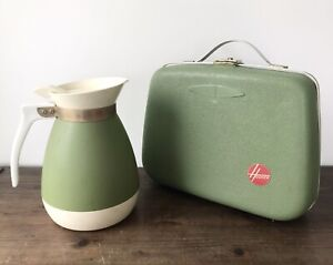 Vintage HOOVER Electric HAIR DRYER Manicure KIT with INSTRUCTIONS! + COFFEE POT