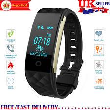 S2 Bluetooth Smart Watch Heart Rate Monitor Bracelet Fitness Tracker Pedometer