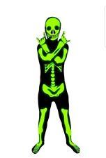 MorphCostumes Glow In The Dark Kids Glow Skeleton SIZE SMALL