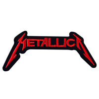 Metallica Rock Music Band Logo Patch Iron On Patch Sew On Embroidered Patch
