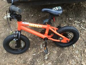 "12""Kids Bike BIG RIPPER COMPANY ,TREK tires, SE Racing, Aluminum,brand new tires"