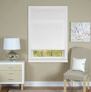 ACHIM Top Down Bottom Up Honeycomb Cordless Cellular Shade - White