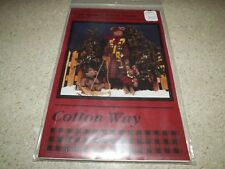Mama Bear & Babies Long Legs Cotton Way Beary First Snow Pattern 1996 New Uncut