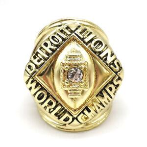1957 Detroit Lions Championship ring NFL