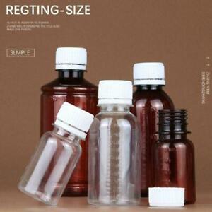 Empty Plastic Bottles Clear Small Sunshade Cap Multi-function Sub-bottling W2Q0