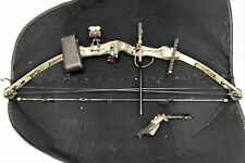 Hoyt USA Right Hand Camouflage Compound Bow w/ Soft Case