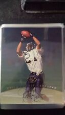 1997 Leaf Signature 8x10 Eric Metcalf Auto Chargers Autograph