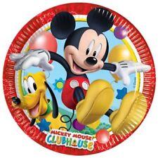 Decoración y menaje platos para mesas de fiesta, Mickey Mouse