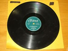 "DOO WOP 78 RPM - THE MIDNIGHTERS - FEDERAL 12285 - ""I'LL BE HOME SOMEDAY"""