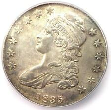 1835 Capped Bust Half Dollar 50C Coin - Certified ICG MS60 Detail (UNC MS)!