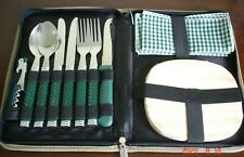 BRAND NEW HI GEAR X2 PERSONS ZIPPED PICNIC/CHEESE SET