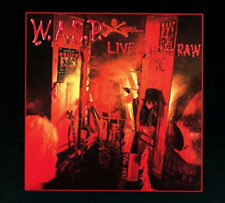 WASP-LIVE IN THE RAW  (UK IMPORT)  CD NEW