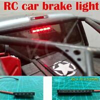 Red Led Brake Light Lamp for 1/10 RC Axial SCX10 II Wraith RR10 TRX4 D90 Tamiya