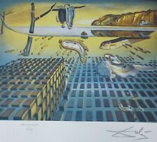 SALVADOR DALI the Disintegration of the HAND NUMBERED PLATE SIGNED LITHOGRAPH