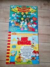 Kinderlieder auf LP's Schlumpfenweihnacht Kinder Hitparade