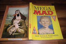 MEGA MAD # 1 -- der TOTALE WAHNSINN // mit 80 Seiten DON MARTIN