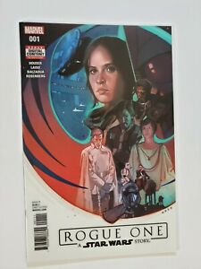 Star Wars Rogue One #1 (2017 Marvel) 1st Andor Cassian & K-2SO | NM