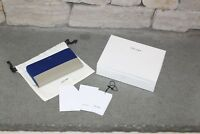 Celine Large Zipped Multifunction Wallet Indigo / Beige 103983XTM.07IB 103983
