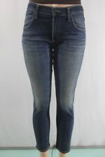 NEW Women's Citizens of Humanity Jeans Mid Rise Slim Fit Crop SZ 27 Blue USA