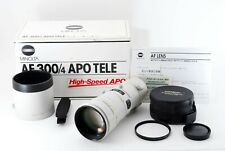 [EXC+++] Minolta High Speed AF APO TELE 300mm F4 G A Mount from Japan #566809