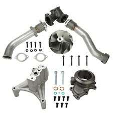 FIT Ford 7.3L 99-03 Turbo Pedestal Ebp Valve Delete Upgraded 5+5 Wheel&Up Pipes