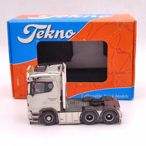 Tekno 1:50 SCANIA S-Serie 6x2 Rontoft 75002 S560 Diecast Models trailer Used