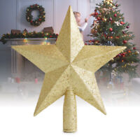 Christmas Tree Top Stars Xmas Decoration Accessories Ornament Topper