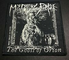 My Dying Bride Ghost Of Orion Black Metal Woven Sew-On Patch New