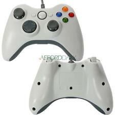 USB Wired XBOX 360 Gamepad Game Controller For PC Computer Windows US White