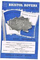 Bristol Rovers v Brighton & HA 1959/60 (3 Oct)