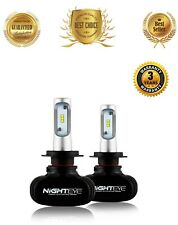 H7 LED Headlight Bulb Conversion Kit High Low Beam Lamp 6500K White, FAST SHIP!!