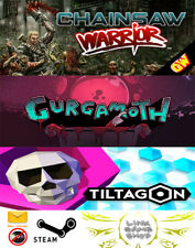 Tiltagon + Chainsaw Warrior + Gurgamoth PC Digital STEAM KEY - Region Free