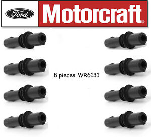 Motorcraft WR6131 Ignition Coil Spark Plug Boot Set of 8 for Ford Mercury 5.4